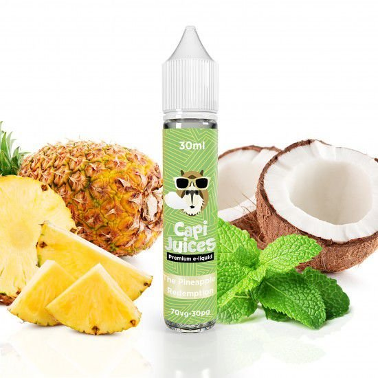 The Pineapple Redemption 30ml - 3mg | Capijuices