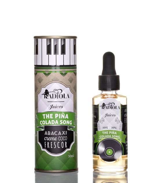 The Pina Colada Song - 30ml - 6mg - Radiola