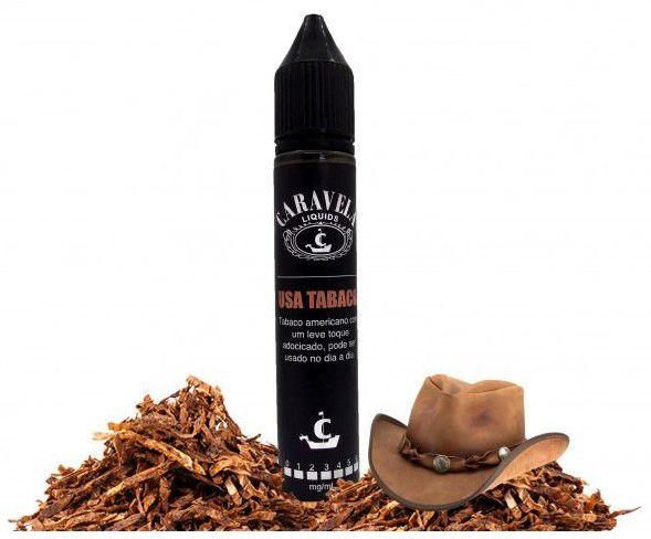 Usa Tobacco - 30ml  Caravelas
