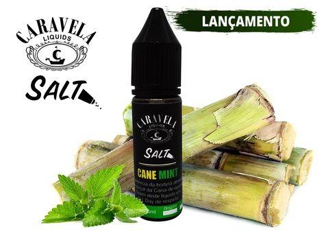 Cane Mint Salt - 35mg - 15ml | Caravelas