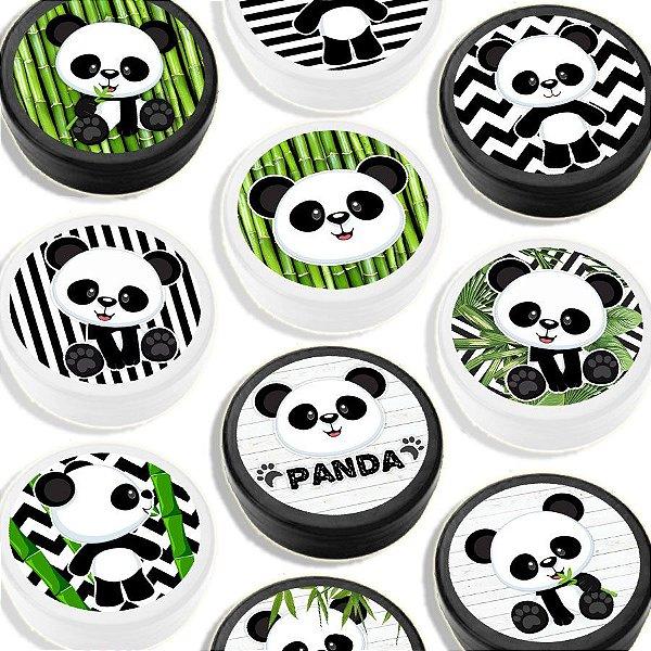 Latinha para Lembrancinha Festa Panda - Sortida - 20 unidades - Lembrafesta