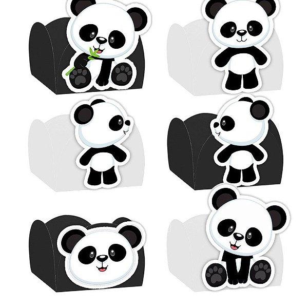 Forminha para Doces Festa Panda - Sortido - 24 Unidades - Lembrafesta