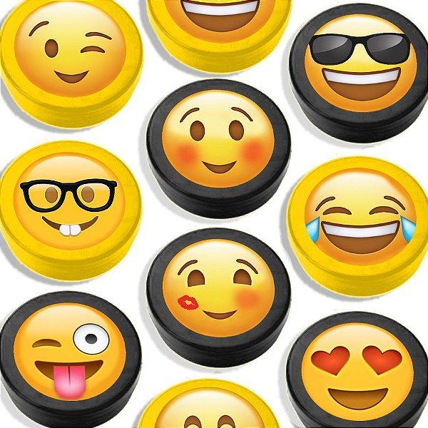 Latinha para Lembrancinha Festa Emoji - Sortida - 20 unidades - Lembrafesta