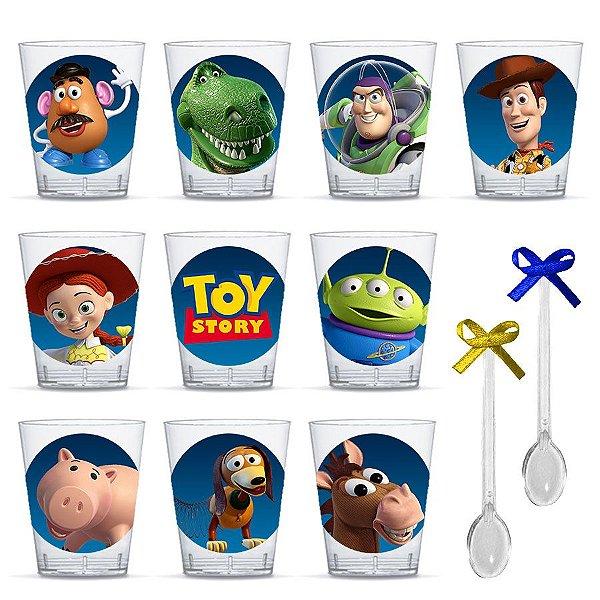 Copinho para Doces com Colher Festa Toy Story com 20 unidades Lembrafesta