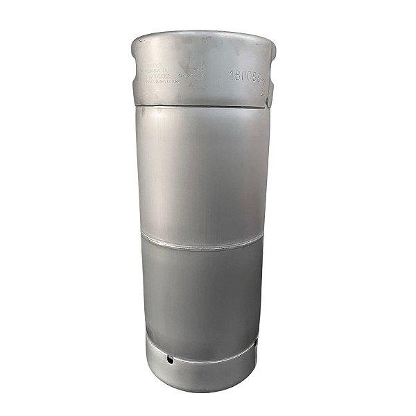 Barril de Chopp Tipo S - Aço Inox - 21 Litros - Penglai com válvula micromatic