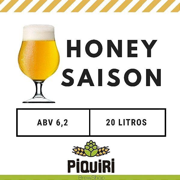 Kit receitas cerveja artesanal 20L Honey Saison
