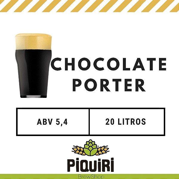Kit receitas cerveja artesanal 20L Chocolate Porter