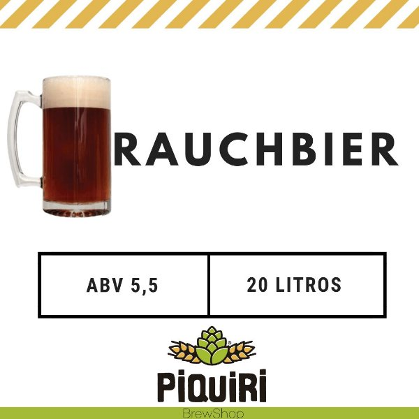 Kit receitas cerveja artesanal  20L Classic RauchBier
