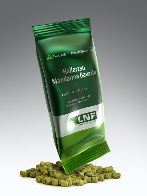 Lúpulo Barth Haas H. Mandarina Bavaria - 50g (pellets)