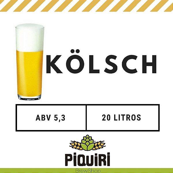 Kit receitas cerveja artesanal 20L Kolsch