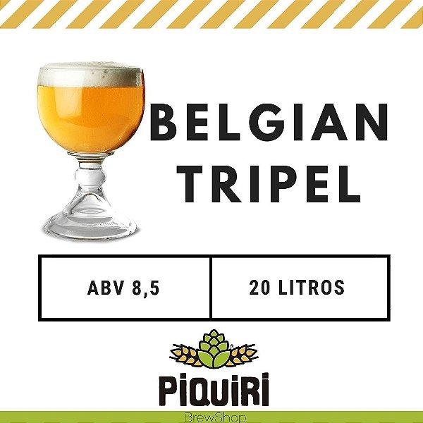 Kit receitas cerveja artesanal 20L Belgian Tripel
