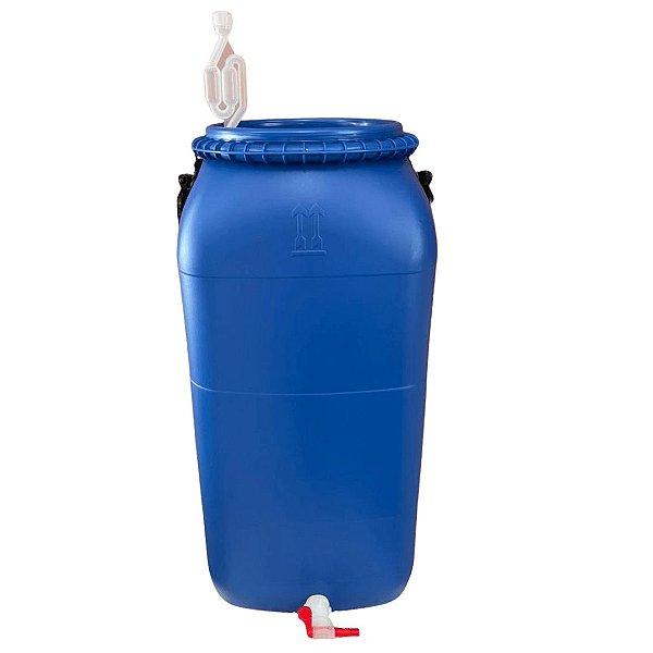 Bombona 60 Litros Completa (airlock, vedante, torneira)