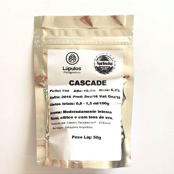 Lúpulo Patagónico Cascade - 50g (pellets)