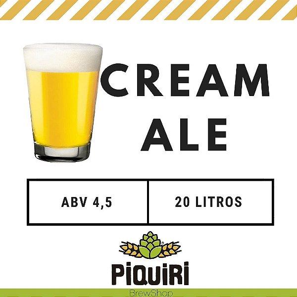Kit receitas cerveja artesanal  20L Cream Ale