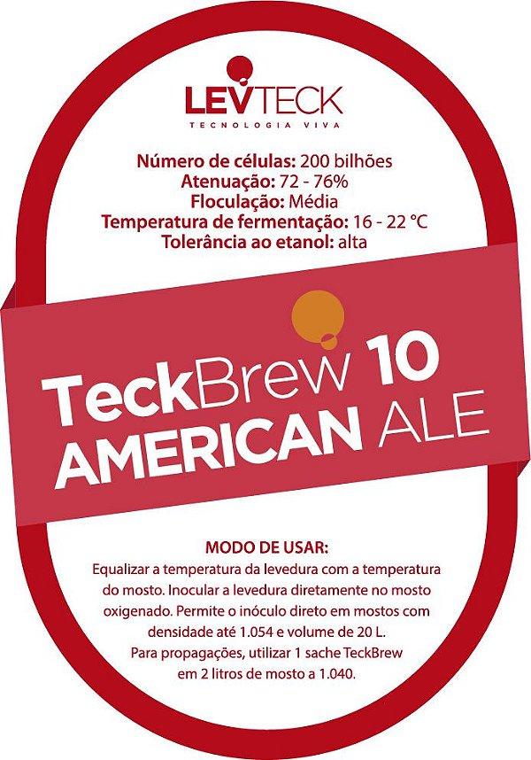 Fermento Líquido TeckBrew 10 American Ale - Sachê