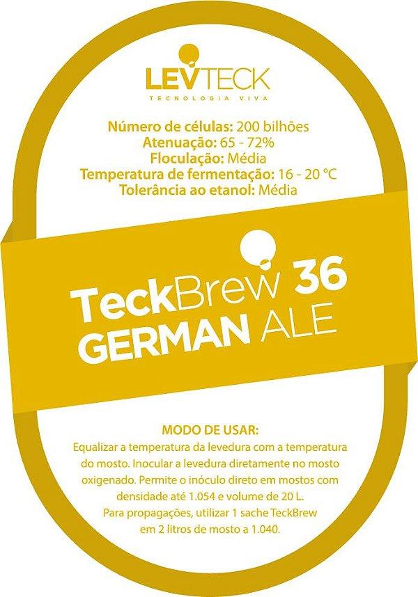 Fermento Líquido TeckBrew 36 German Ale - Sachê