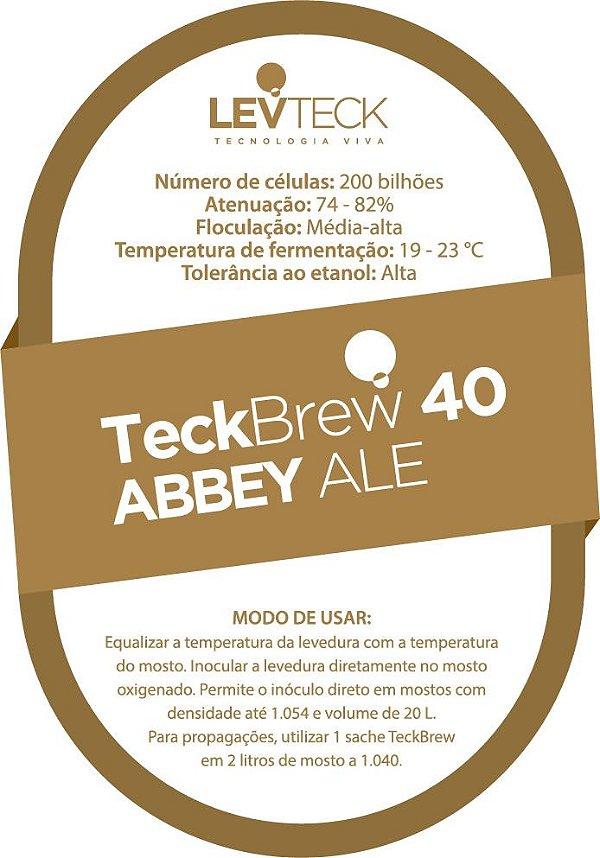 Fermento Líquido TeckBrew 40 Abbey Ale - Sachê