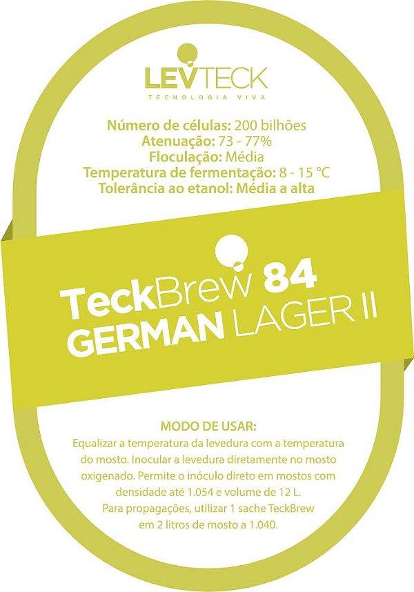 Fermento Líquido TeckBrew 84 German Lager - Sachê
