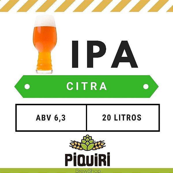 Kit receitas cerveja artesanal  20L IPA Citra