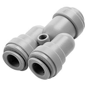 DMfit Conexão Rápida 2 vias tubo/mangueira 3/8 - ATWD0606