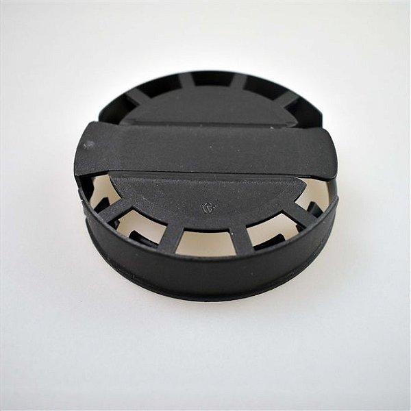 Lacre Plástico de Segurança para Barril Inox Tipo S - Preto - 10 Und