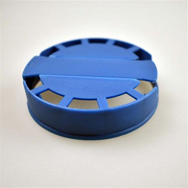 Lacre Plástico de Segurança para Barril Inox Tipo S - Azul - 10 Und