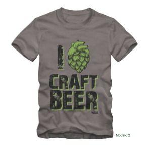 Camiseta Craft Beer - Tamanho G