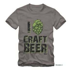 Camiseta Craft Beer - Tamanho M