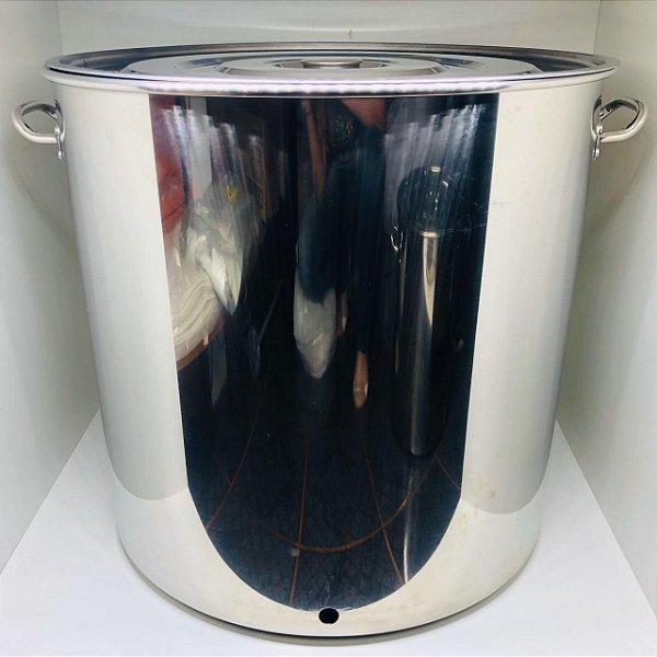 Panela Inox N. 55 - 130 Litros