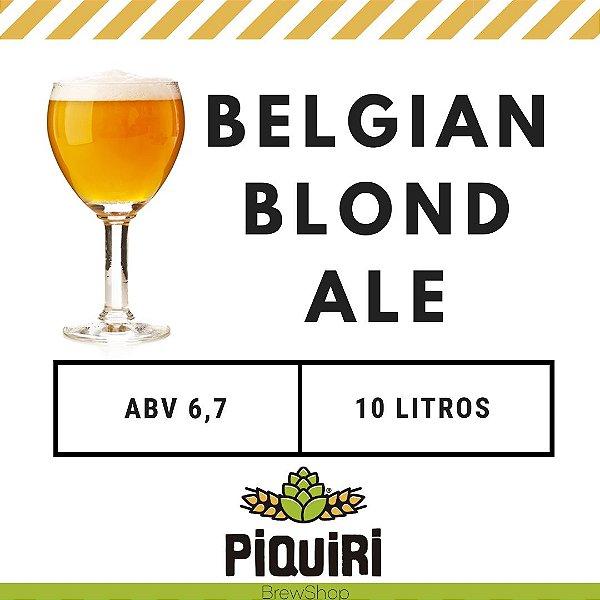 Kit receitas cerveja artesanal 10L Belgian Blond Ale