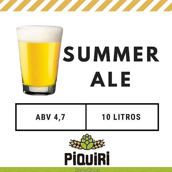 Kit receitas cerveja artesanal 10L Summer Ale