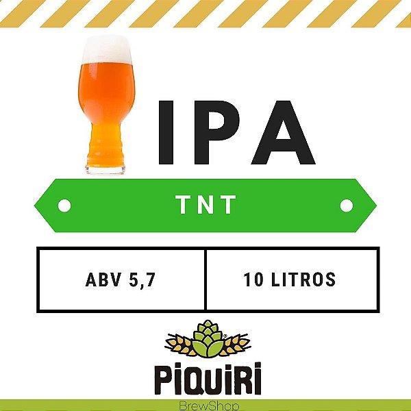 Kit receitas cerveja artesanal 10L IPA TNT