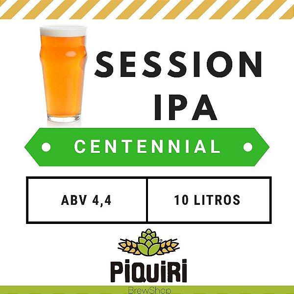 Kit receitas cerveja artesanal 10L Session IPA Centennial
