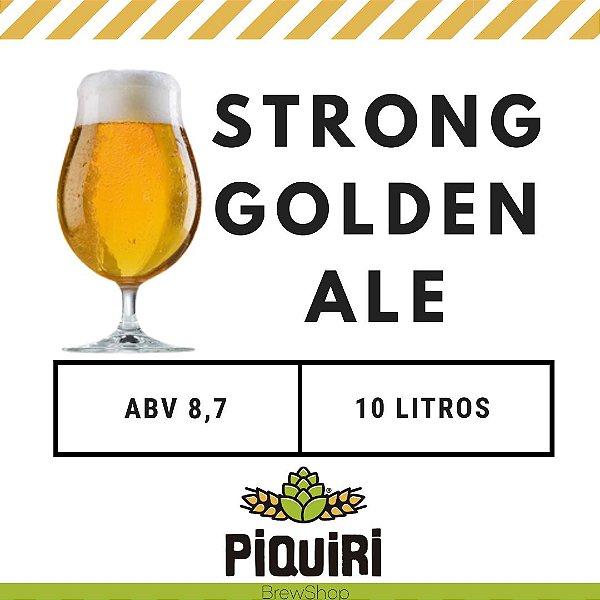 Kit receitas cerveja artesanal 10L Strong Golden Ale