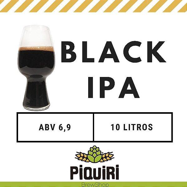 Kit receitas cerveja artesanal 10L Black IPA