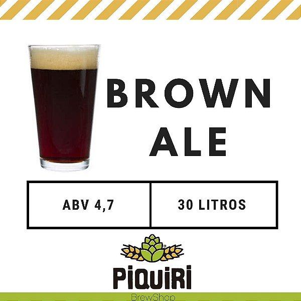 Kit receitas cerveja artesanal 30L Brown Ale