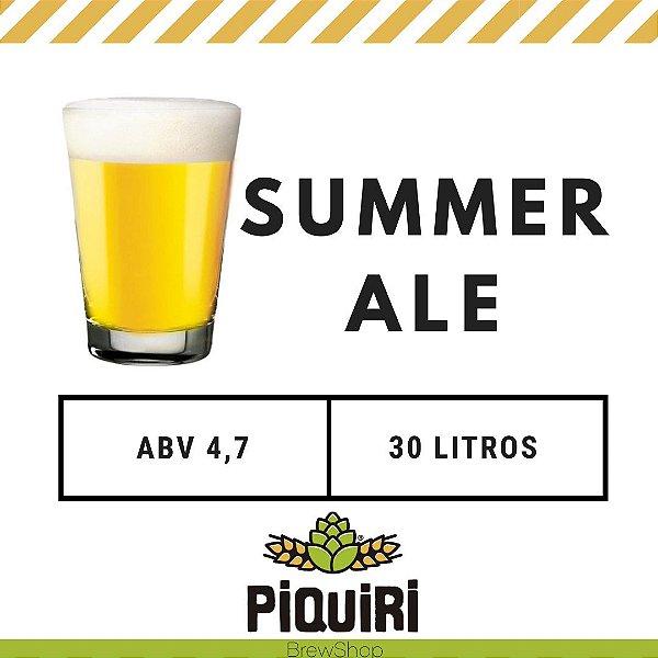 Kit receitas cerveja artesanal 30L Summer Ale