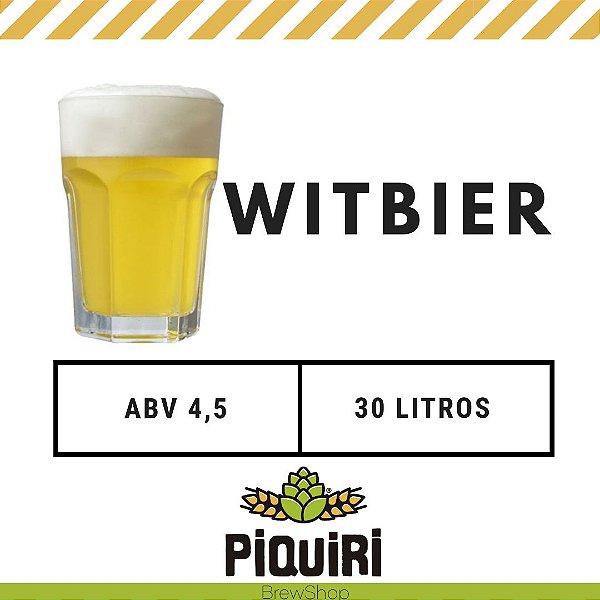Kit receitas cerveja artesanal 30L Witbier