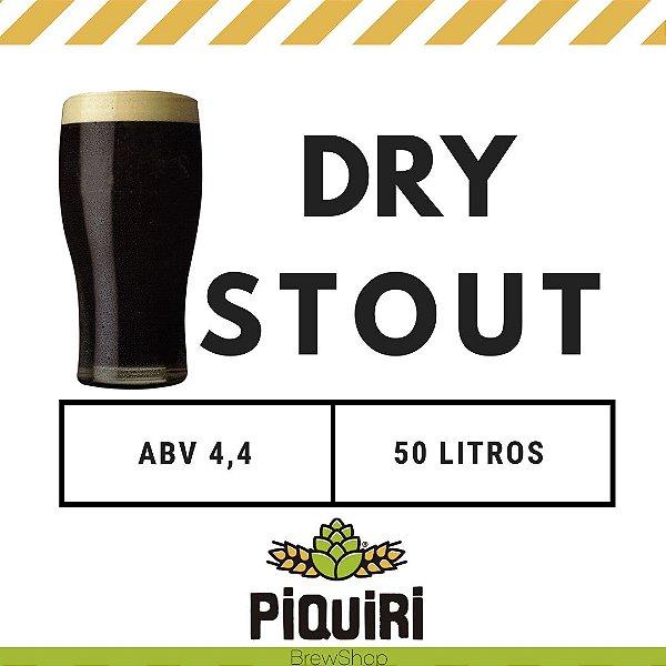 Kit receitas cerveja artesanal 50L Dry Stout