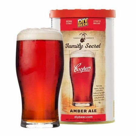 Beer Kit Coopers Family Secret Amber Ale - 1 un