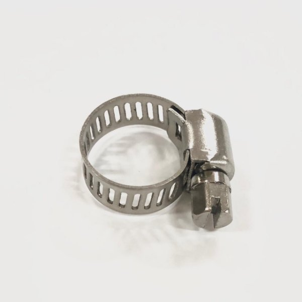 Abraçadeira Rosca sem fim em inox 10 - 16mm