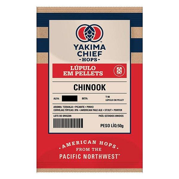 Lúpulo YAKIMA Chinook  - 50g (pellets)