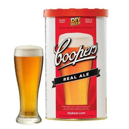 Beer Kit Coopers Real Ale - 1 un
