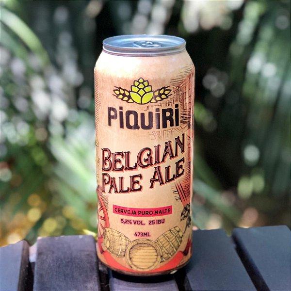 Cerveja Piquiri Belgian Pale Ale - Lata 473ml