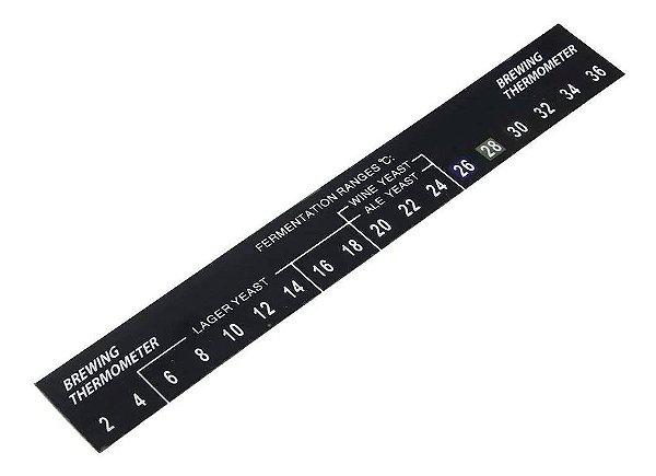Termometro Adesivo para Fermentador