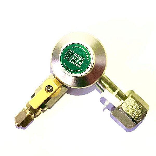 Regulador de Pressão para CO2 - 1 via - Pre-Calilbrada