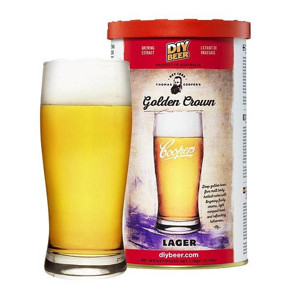Beer Kit Coopers Golden Crown Lager - 1 un