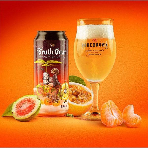 Cerveja Bodebrown Frutti Sour - 473ml (lata)