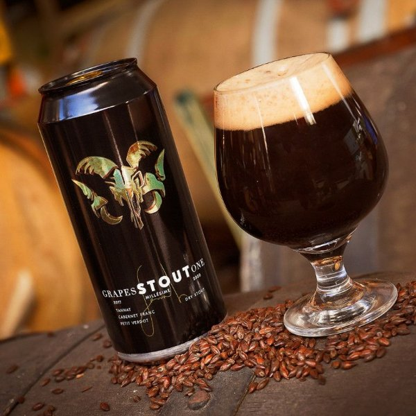 Cerveja Bodebrown Grapes Stout One  - 473ml (lata)