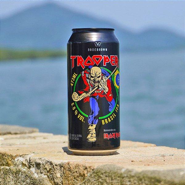 Cerveja Bodebrown Trooper Brasil IPA  - 473ml (lata)